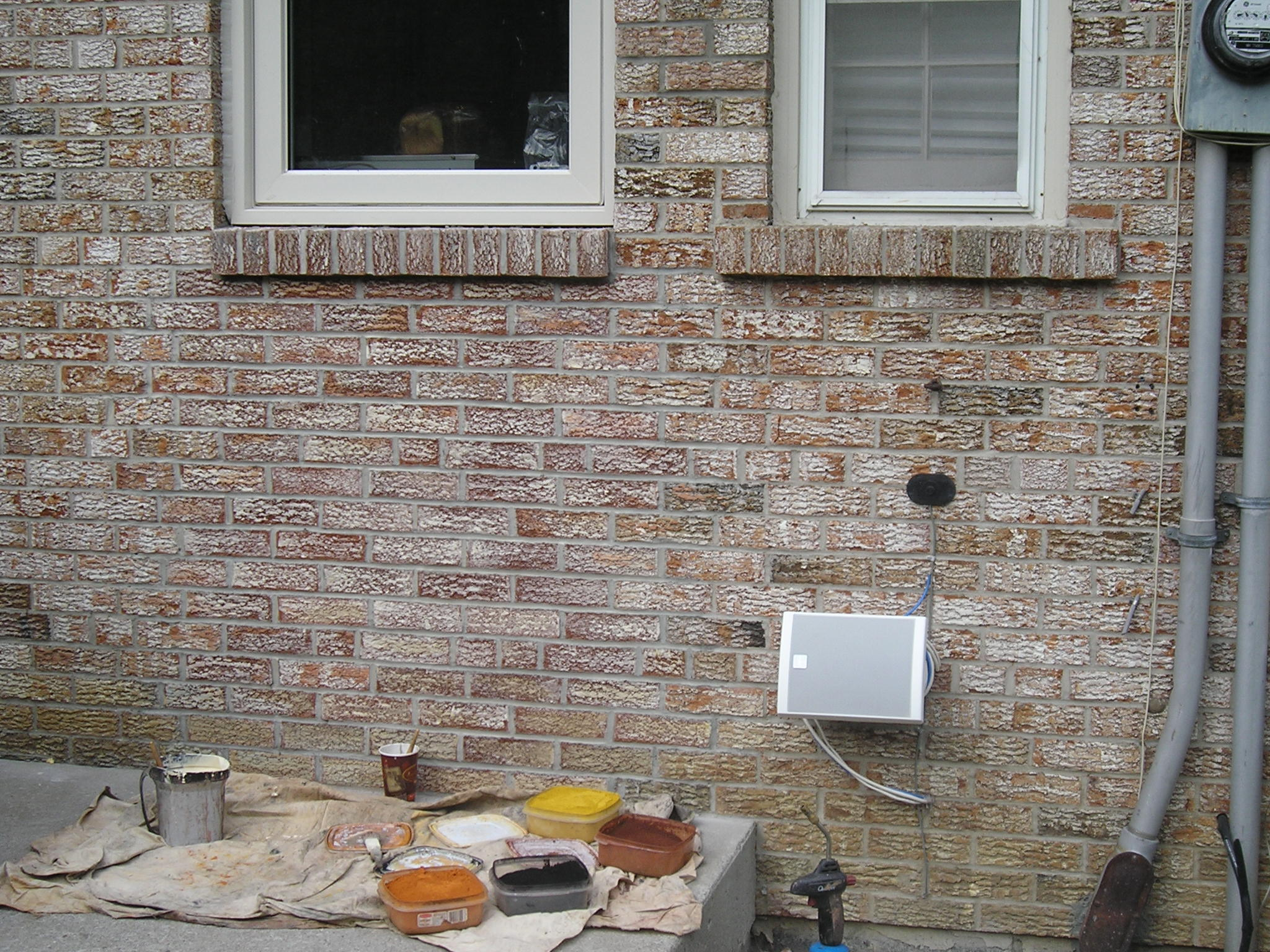 Masonry Stain After